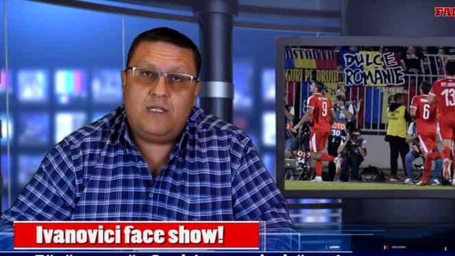 Ivanovici face show: analiză la sânge a unei naționale curajoase la Fanatik TV