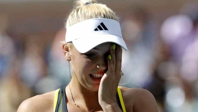 Caroline Wozniacki a dezvăluit că a fost diagnosticată de curând cu o boală autoimună