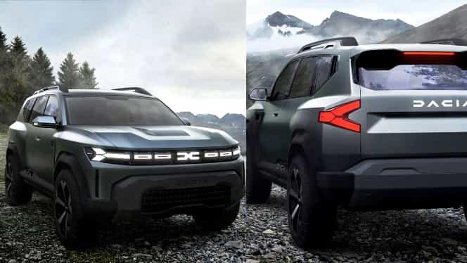 Dacia Bigster, prezentată oficial. Cum arată noul SUV românesc. Este fratele mai mare al lui Duster