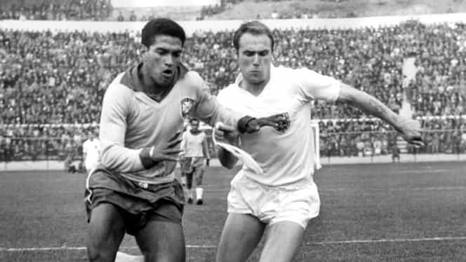 """Video. Garrincha, eroul Mondialului din Chile! În 1962 s-a jucat """"cel mai ruşinos meci"""""""