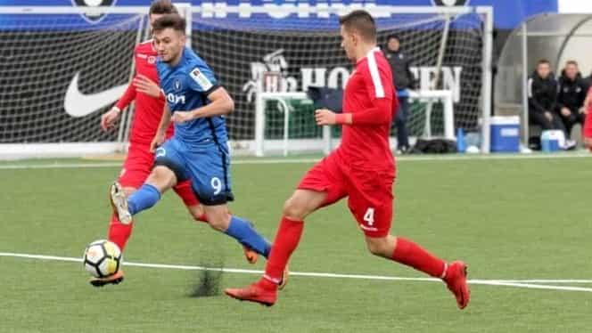 Dinamo şi Viitorul şi-au împărţit victoriile la juniori. Ce au făcut campionii lui Bratu