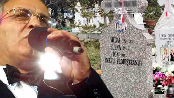 Ce scrie pe crucea lui Nelu Ploieșteanu. Care este, de fapt, numele real al regretatului cântăreț