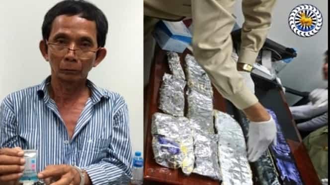 ROMÂN arestat în Cambodgia, cu 5 kilograme de cocaină. Bărbatul riscă închisoarea pe viaţă