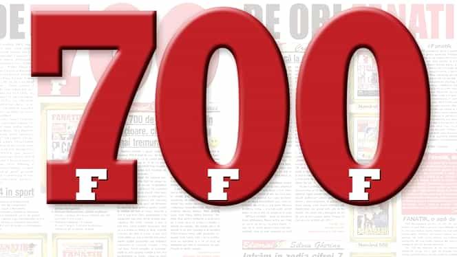 FANATIK a împlinit 700 de numere! Editorial emoţionant Horia Ivanovici, dezvăluiri din redacție și cifre surpriză :)