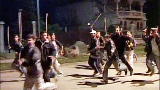 VIDEO / Scandal monstru între ţigani, în ziua de Paşte