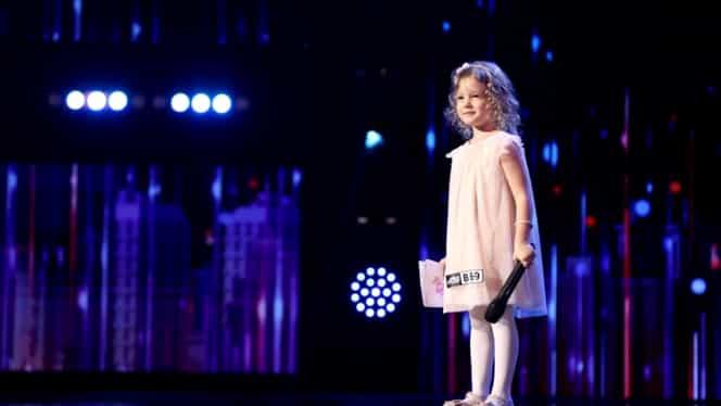 Anastasia Ursu, cea mai mică concurentă de la Românii au talent. Prin ce a impresionat fetița de 4 ani