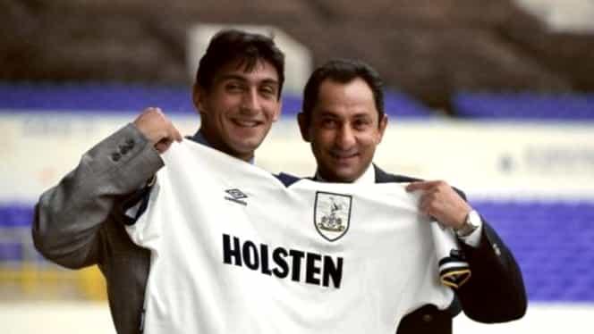 """Amintirile englezilor din perioada când Ilie Dumitrescu şi Gică Popescu jucau la Tottenham. """"Ne spunea să bem şampanie, nu bere"""" / """"Era incredibil ce făcea pe teren"""""""