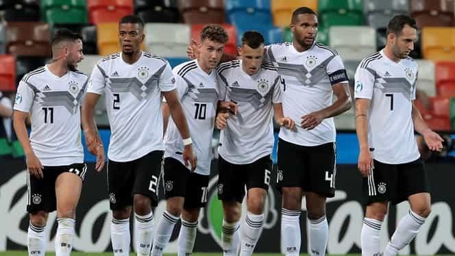 Germania – Serbia 6-1 în EURO U21. VIDEO cu rezumatul