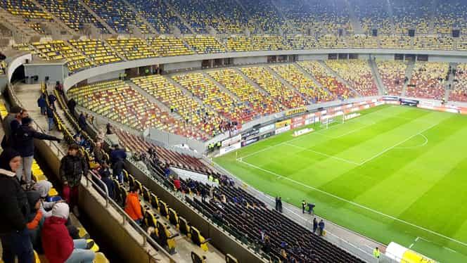 Imagini dezolante pe Arena Națională! 3.400 de suporteri au asistat la FCSB – Astra. GALERIE FOTO
