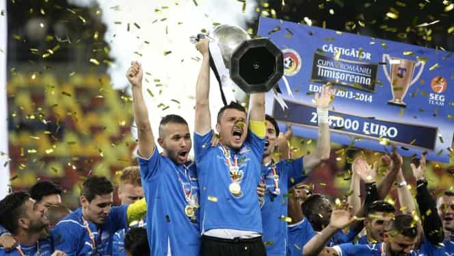 Cum arăta Astra când a câștigat Cupa României. Giurgiuvenii au luat primul trofeu din istorie cu Budescu și Morais pe teren. VIDEO