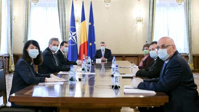 Klaus Iohannis, ședință cu Ludovic Orban și mai mulți miniștri. Se vor discuta măsurile de relaxare