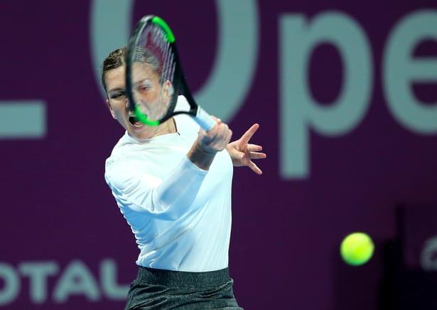 Simona Halep – Elina Svitolina 6-3, 3-6, 6-4! Simo, revenire fabuloasă de la 1-4 şi 3 mingi de 1-5 în decisiv! Românca se califică în a 34-a finală din carieră!