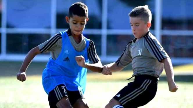 Fiul lui Cristiano Ronaldo, show în Italia. Câte goluri și pase decisive are la Juventus. VIDEO