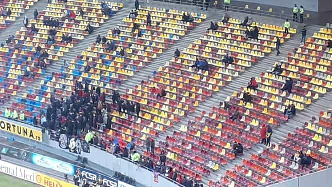 Bate vântul pe Arena Națională! 1370 de suporteri sunt în tribune pentru meciul cu Gaz Metan! Cea mai slabă asistență pentru FCSB în acest sezon