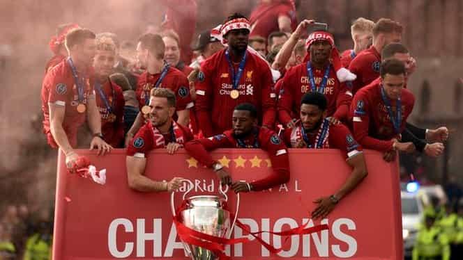 """Top 10 Forbes – cele mai valoroase cluburi de fotbal din lume. Câţi bani """"face"""" Liverpool, deţinătoarea Champions League + care e cel mai bogat club de pe mapamond. Nu e din fotbal"""