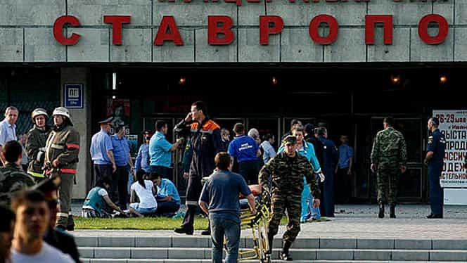 Atentat comis de o FEMEIE-KAMIKAZE în oraşul rus Volgograd. Cel puţin 18 persoane au murit