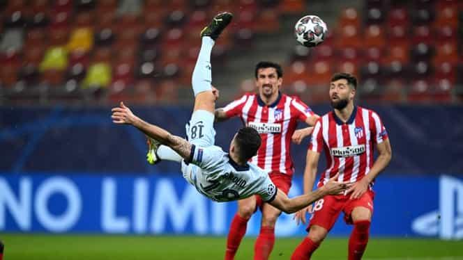 Golul fabulos al lui Giroud, primul validat cu VAR în România. Reacția francezului. Video