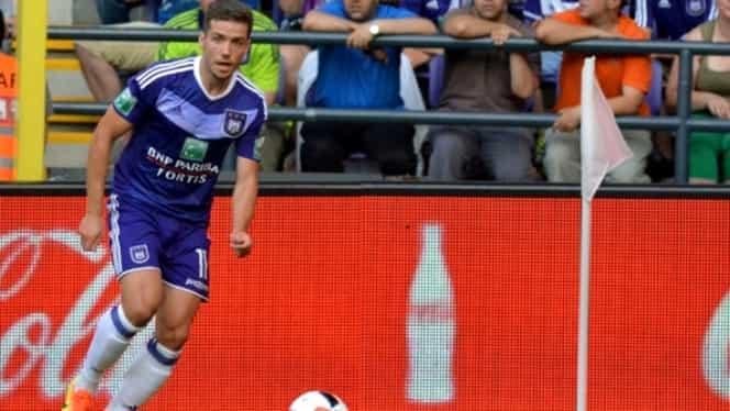 VIDEO. Alex Chipciu, PRIMUL GOL pentru Anderlecht! VEZI reuşita
