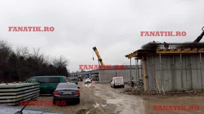 """Imaginile de la Gara Otopeni ce contrazic autoritățile: """"Sunt povești! Nu e gata până la EURO 2020!"""" Foto exclusiv"""