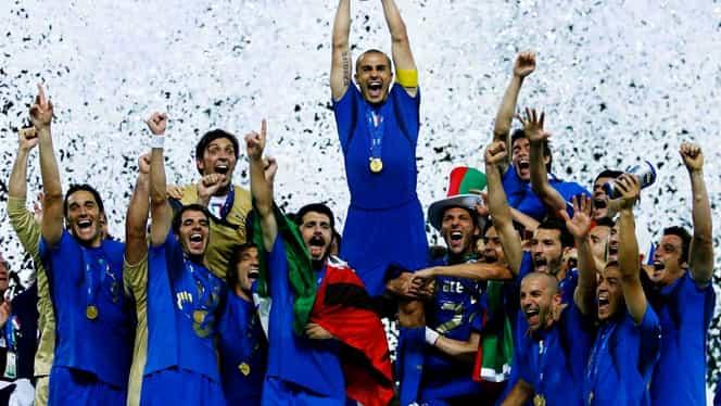 Italia, campioană mondială în 2006 după scandalul Calciopoli! Ieşirea din scenă a lui Zidane! Video