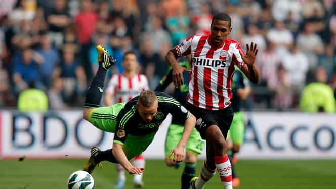 Olandezii îşi dispută meciul sezonului: PSV – Ajax!