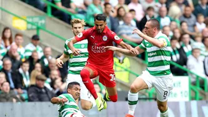 VIDEO. Gol FABULOS marcat de Mahrez pentru Leicester! Portarul lui Celtic a rămas mască