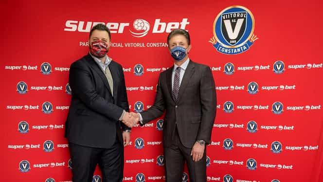 """Superbet, noul sponsor al lui Viitorul Constanța: """"Este o validare pentru viziunea noastră de creștere"""""""