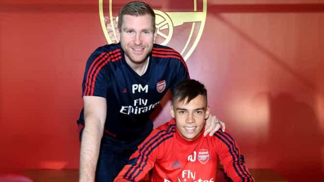 """Cătălin Cîrjan a semnat contractul de profesionist cu Arsenal: """"Este doar primul pas!"""""""