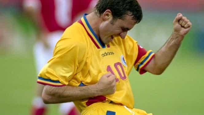 Gică Hagi în topul celor mai tari decari din istorie, lângă Maradona, Pele, Messi și Zidane! Galerie foto