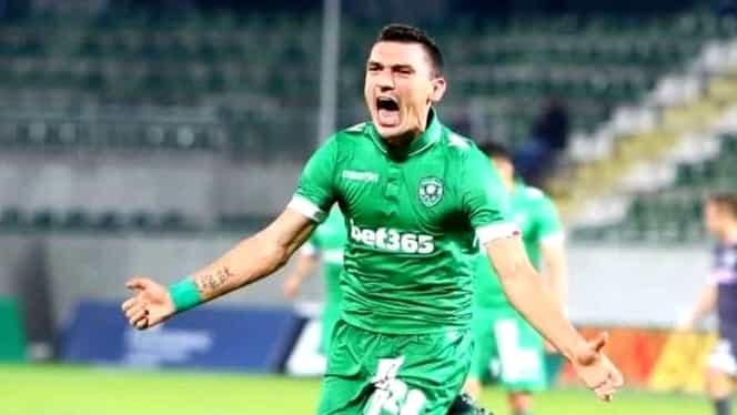 Claudiu Keșeru a marcat din nou pentru Ludogoreț. Video / Potaissa Turda și HC Dobrogea Sud au debutat în preliminariile European League
