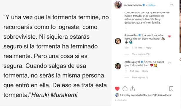 """Sara Carbonero, soția lui Iker Casillas, diagnosticată cu cancer! O nouă lovitură pentru portarul spaniol. """"Drumul va fi greu!"""" FOTO"""