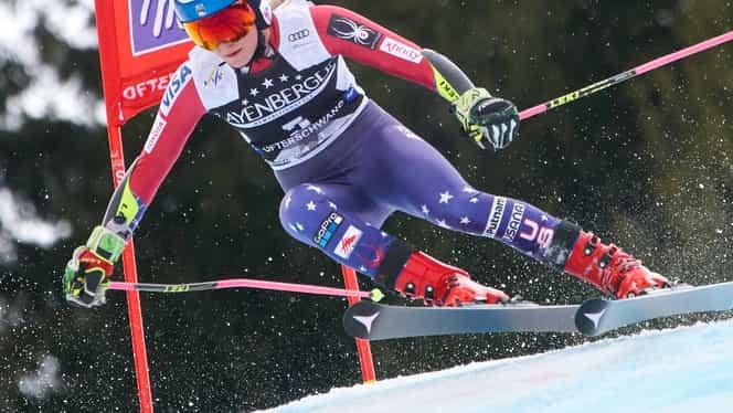 Shiffrin, regina slalomului feminin! Este al cincilea Glob de cristal în ultimii 6 ani
