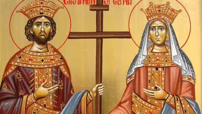 Ce să nu faci de Sfinții Constantin și Elena, sărbătoare care are loc pe 21 mai