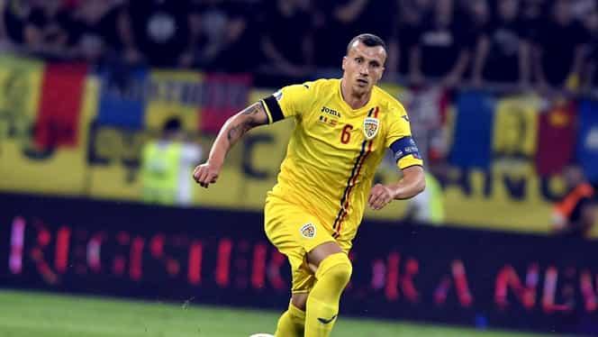 Vlad Chiricheș a făcut ruptură în meciul Feroe – România! Căpitanul, schimbat cu Adi Rus. Vin Burcă și Cristea