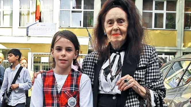 Fiica Adrianei Iliescu este o adolescentă în toată regula. Eliza a împlinit 16 ani