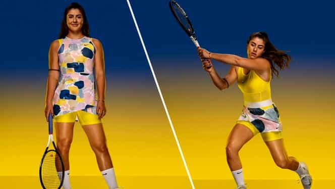 Simona Halep şi Bianca Andreescu, echipamente inedite la Australian Open. Cum vor fi îmbrăcate cele două jucătoare. FOTO