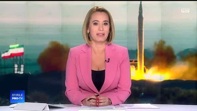 Cine a apărut la ştirile Pro TV de luni, în locul Andreei Esca
