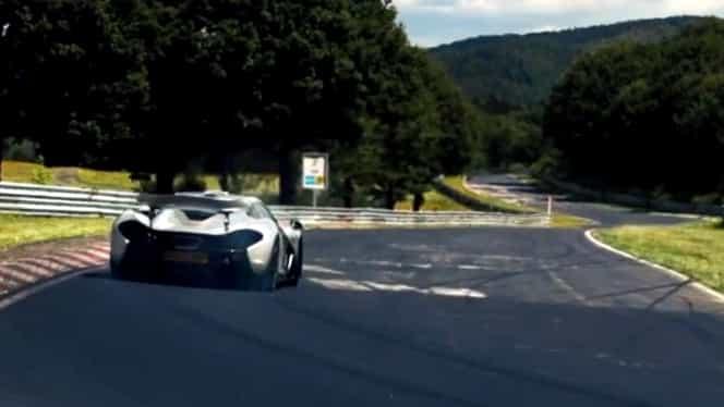 VIDEO /  McLaren P1 într-un tur de sub şapte minute pe Nordschleife!