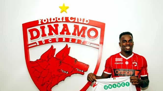 Teddy Mezague a semnat cu Dinamo! Fundaşul a fost prezentat oficial