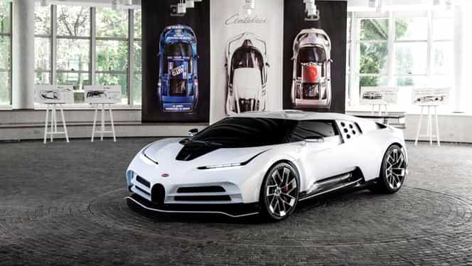 Ce preț are noul Bugatti Centodieci, scos recent la vânzare în doar 10 exemplare