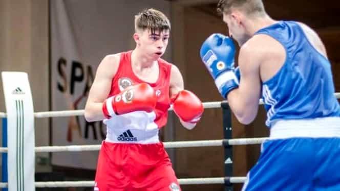 Un român de 22 de ani a câştigat aurul la Campionatul European de box de la Târgu Jiu!