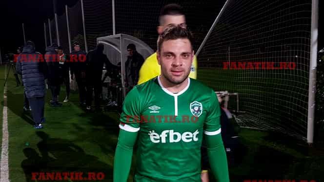 Prima reacție a lui Adi Popa, după ce a debutat în tricoul lui Ludogoreț. Moment amuzant cu Claudiu Keșeru. Video