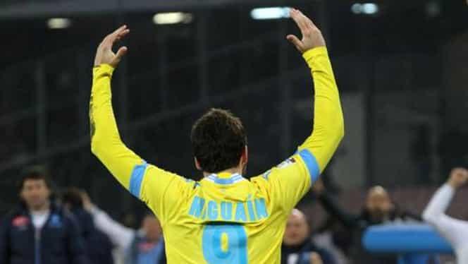 VIDEO / Napoli s-a calificat în finala Cupei Italiei sub ochii lui Maradona
