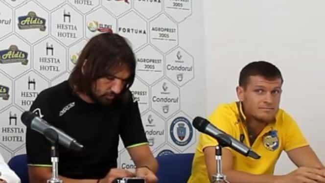 """Bourceanu a fost prezentat oficial la Dunărea Călăraşi! Scandal monstru: """"Cum vă numiţi?"""""""