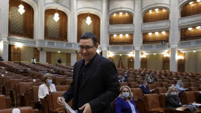 """Ponta, dezlănțuit în Parlament! Discurs dur: """"Îmi vine să vomit, chiar nu mai pot…"""". De la Portocală la premierul Orban"""