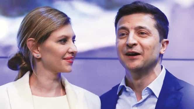 Cine este Elena Zelenska, prima doamnă a Ucrainei. Soția președintelui Volodimir Zelenski, de o frumusețe rară FOTO