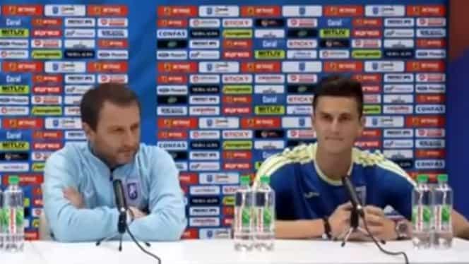 Mangia și Gardoș au vorbit despre duelul Craiova-Viitorul. Video