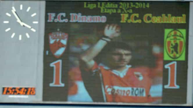 GALERIE FOTO / Dinamo – Ceahlăul 1-1! Un piThicot şi zece căţeluşi! Adi MUTU a fost la meci!