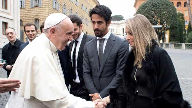 Foto. Imaginea zilei vine de la Vatican! Cum a fost surprins Papa Francisc astăzi