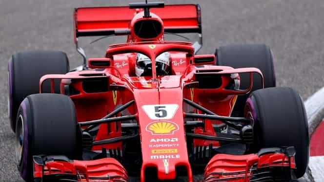"""Sebastian Vettel continuă parcursul de vis! Ferrari, """"dublă"""" în calificări"""